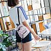 Мини-рюкзак городской женский розовый, фото 10