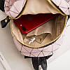 Мини-рюкзак городской женский розовый, фото 6