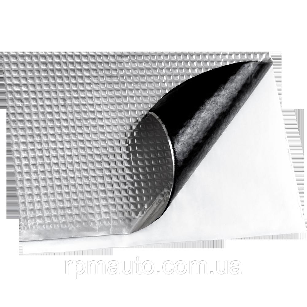 Шумоизоляция Авто Vizol 4 мм 50х70 см Обесшумка Виброизоляция Шумка Шумоізоляція Виброшумоизоляция для Авто