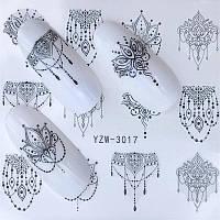 Слайдер дизайн наклейки водные