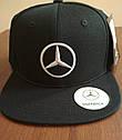 Оригинальная мужская бейсболка Mercedes Men's Flat Brim Cap, Black (B66953170), фото 4