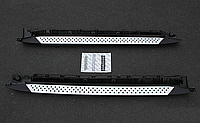 Пороги боковые BMW X3 2005-2011