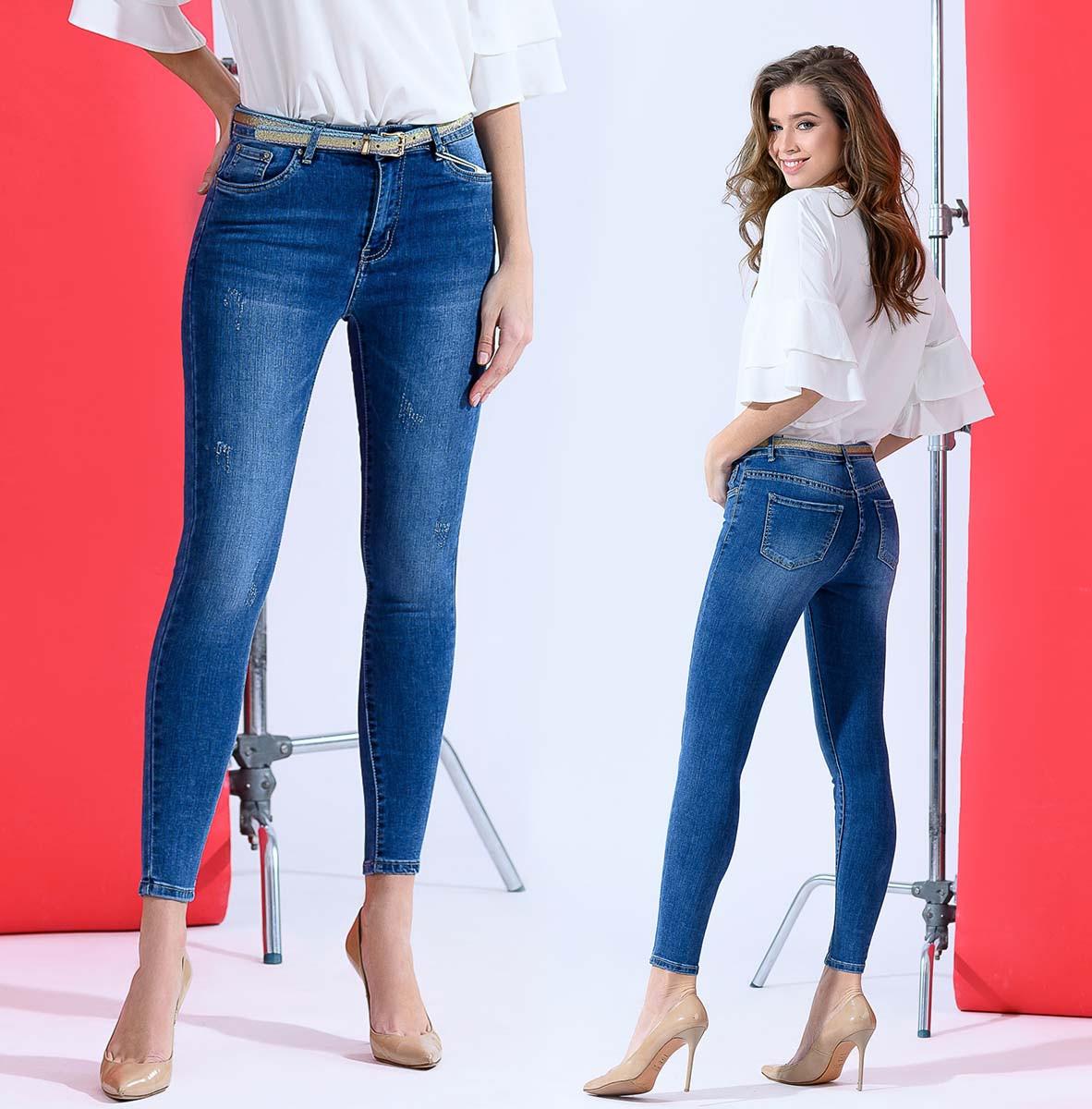 """Стильные женские джинсы стрейч """"1812"""""""