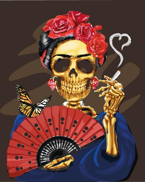 Картина по номерам Фрида Кало 40 х 50