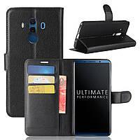 Чехол-книжка Litchie Wallet для Huawei Mate 10 Pro Черный