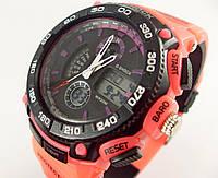 Часы наручные Casio G-Shock 3198 розовые с черным