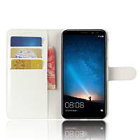 Чехол-книжка Litchie Wallet для Huawei Mate 10 Lite Белый