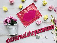 Маска Патч для губ Collagen Lip Mask (розовая) ВИШНЯ, фото 1