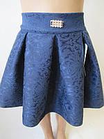 Детские пышные юбки с пряжкой на поясе.
