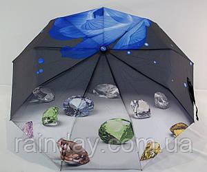 "Женский зонт полуавтомат ""Бриллиант"""