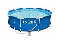 Каркасный бассейн Intex 28202, 305 x 76 см , 4485 л фильтр насос