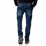 Мужские джинсы Franco Benussi FB 14-313 Paris синие, фото 3