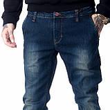 Мужские джинсы Franco Benussi FB 14-313 Paris синие, фото 5