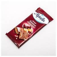Шоколад Alpinella Молочный С Изюмом И Орехами,100г