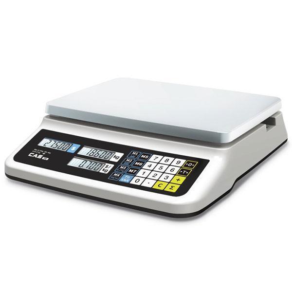 Весы торговые без стойки CAS PR-15 II В (6 кг, 15 кг, 30 кг)