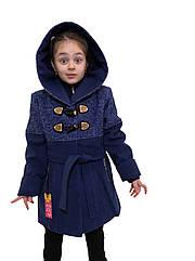 """Комбинированное пальто из кашемира и букле для девочки - """"Букле"""""""