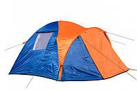 Палатка туристическая трехместная Coleman 1011 (Польша), фото 1