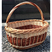 Корзина плетеная 001