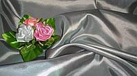 Тафта серая с розовым отливом