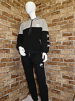 """Спортивный костюм детскийдля мальчика, """"Nike"""",6-9 лет,темно-синий с серым, фото 1"""