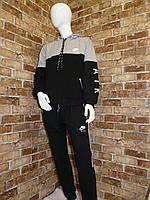 """Спортивный костюм подростковый для мальчика, """"Nike"""", 13-16 лет, темно-синий с серым, фото 1"""