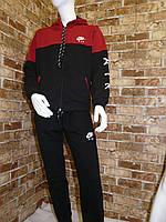 """Спортивный костюм подростковыйдля мальчика, """"Nike"""",9-12 лет,темно-синий с красным, фото 1"""
