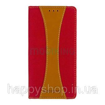 Чехол-книжка Goospery Canvas для Huawei Y7 Prime 2018 (LDN-L21) Red, фото 2