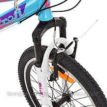 Велосипед детский PROF1 20 Д. G20CARE A20.2 голубой, фото 2