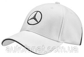 Оригинальная бейсболка унисекс Mercedes-Benz Unisex Сap, Golf Selection, White (B66954301)
