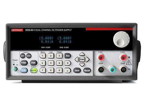 Многоканальные источники питания постоянного тока Keithley серии 2220/2230/2231