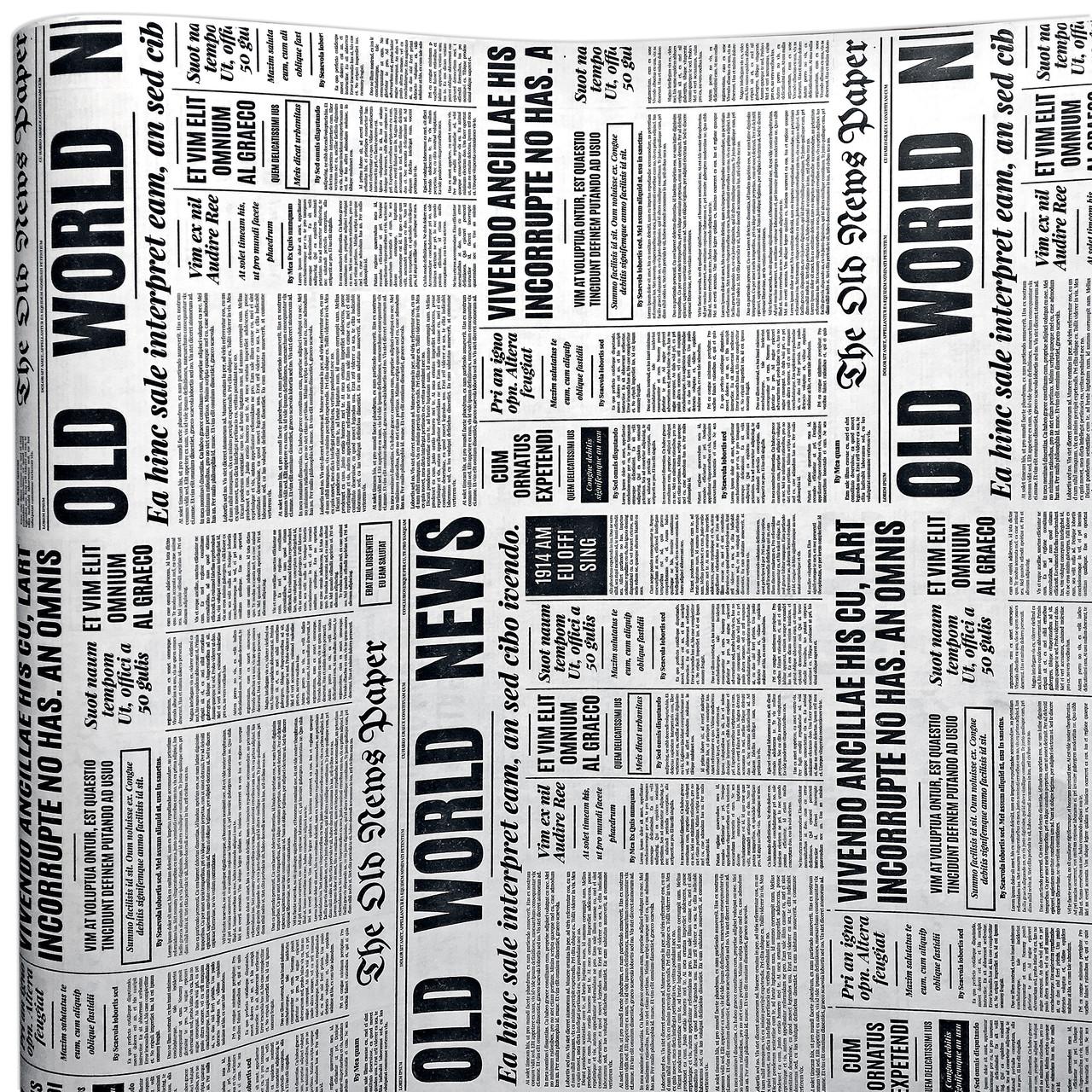 Бумага двухсторонняя Газета