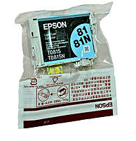 Оригинальный картридж Epson T0815, Light Cyan