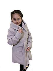 """Кашемировое пальто для девочки """"Шанель"""""""