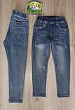 Весенние зауженные стильные джинсы для мальчиков, фото 2