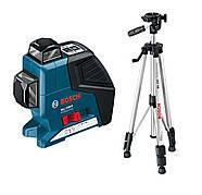 Линейный лазерный нивелир Bosch GLL 2-80 P + штатив (выставочный, новый)