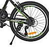 Велосипед детский PROF1 20 Д.  G20FIFA A20.2 черно-зеленый, фото 2