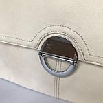 Модная женская бежевая сумочка, фото 7