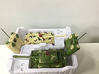 Танковый бой - две модели танков на радиоуправлении