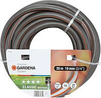 "Шланг для полива Gardena  Classic Skintech    3/4"", 25м."