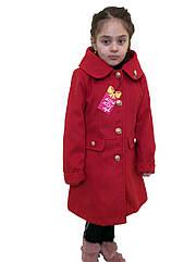 """Кашемировое пальто для девочки - """"Колибри"""""""