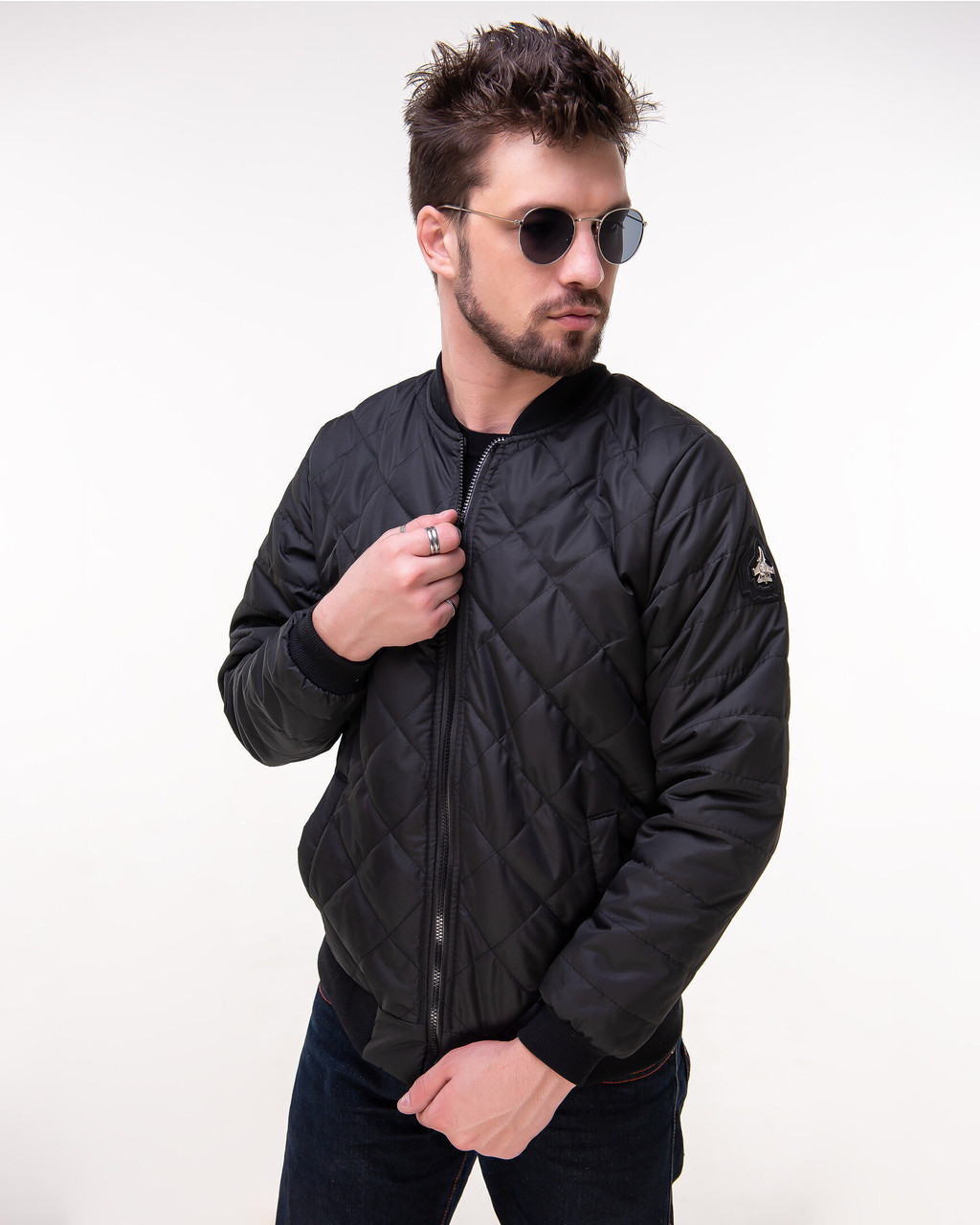 Куртка демисезонная мужская бомбер