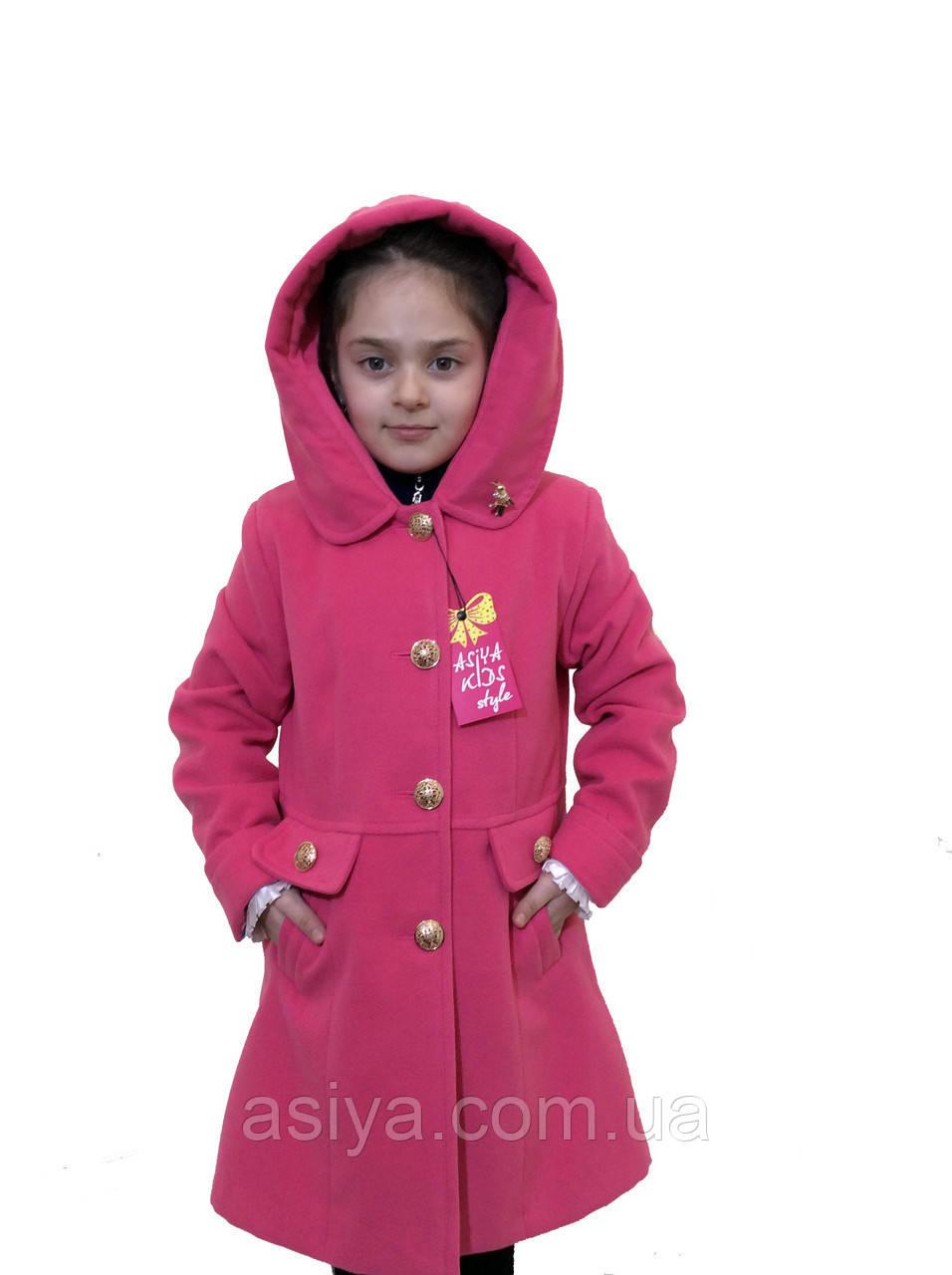 """Кашемірове пальто для дівчинки - """"Колібрі"""""""