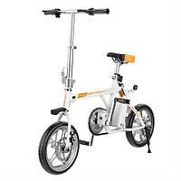 Складной Электровелосипед AIRWHEEL R3+ 214.6WH (белый) (съемная батарея с USB-портом)