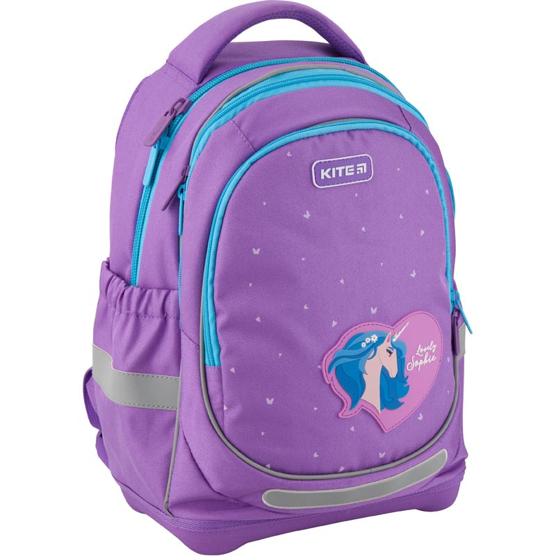 Рюкзак школьный Kite Education для девочек Lovely Sophie 36x27x16 см 21,5 л Фиолетовый (K19-724S)