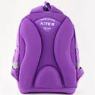 Рюкзак школьный Kite Education для девочек Lovely Sophie 36x27x16 см 21,5 л Фиолетовый (K19-724S), фото 3