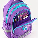 Рюкзак школьный Kite Education для девочек Lovely Sophie 36x27x16 см 21,5 л Фиолетовый (K19-724S), фото 6