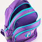 Рюкзак школьный Kite Education для девочек Lovely Sophie 36x27x16 см 21,5 л Фиолетовый (K19-724S), фото 4