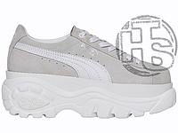 Женские кроссовки Puma x Buffalo London Suede Platform White 368499-01