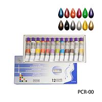 Набор перламутровых красок Lady Victory 12шт PCR-00