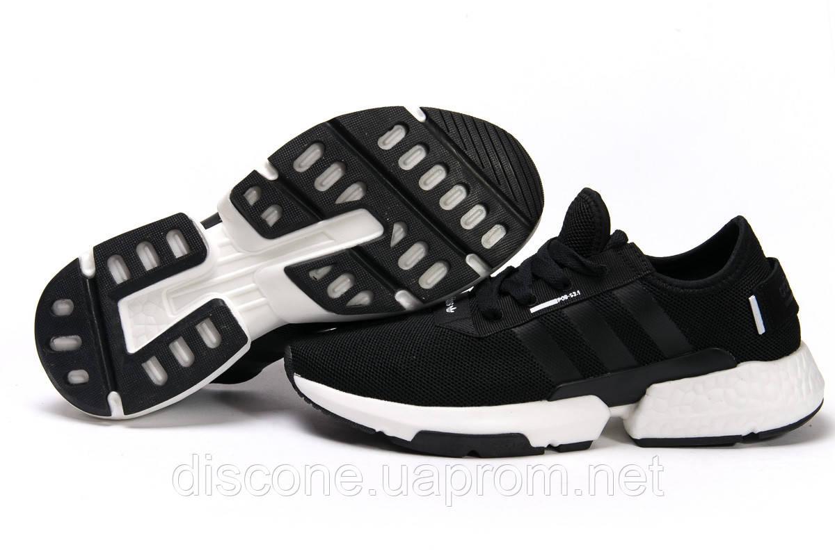 Кроссовки мужские ► Аdidas POD - S3.1,  черные (Код: 15323) ► [  46 (последняя пара)  ] ✅Скидка 40%